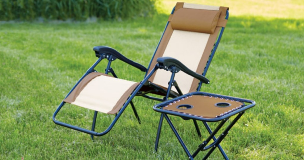 Living Accents Steel Relaxer Chair W Headrest Only 29 99