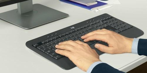 Logitech Advanced Wireless Keyboard & Mouse Only $29.99 Shipped (Regularly $60)