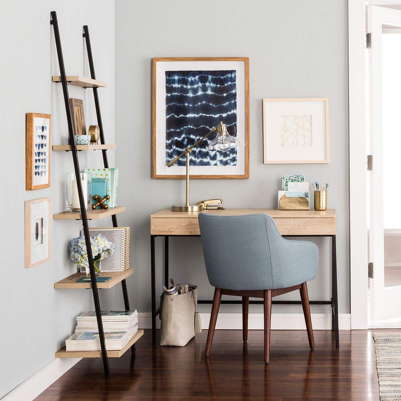 Loring Writing Table in office