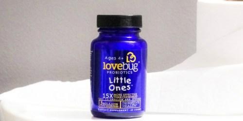 60% Off LoveBug Little Ones Probiotics for Kids at Amazon