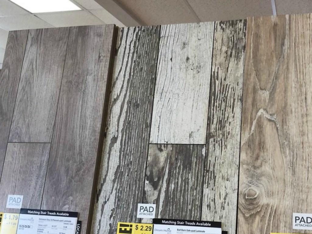 Lumber Liquidators Flooring Display