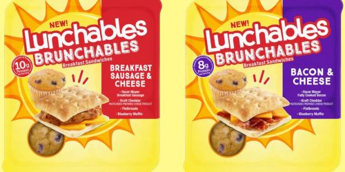 Lunchables Brunchables Breakfast Sandwiches Are Coming (+ 100 Will Win a 6 Pack!)