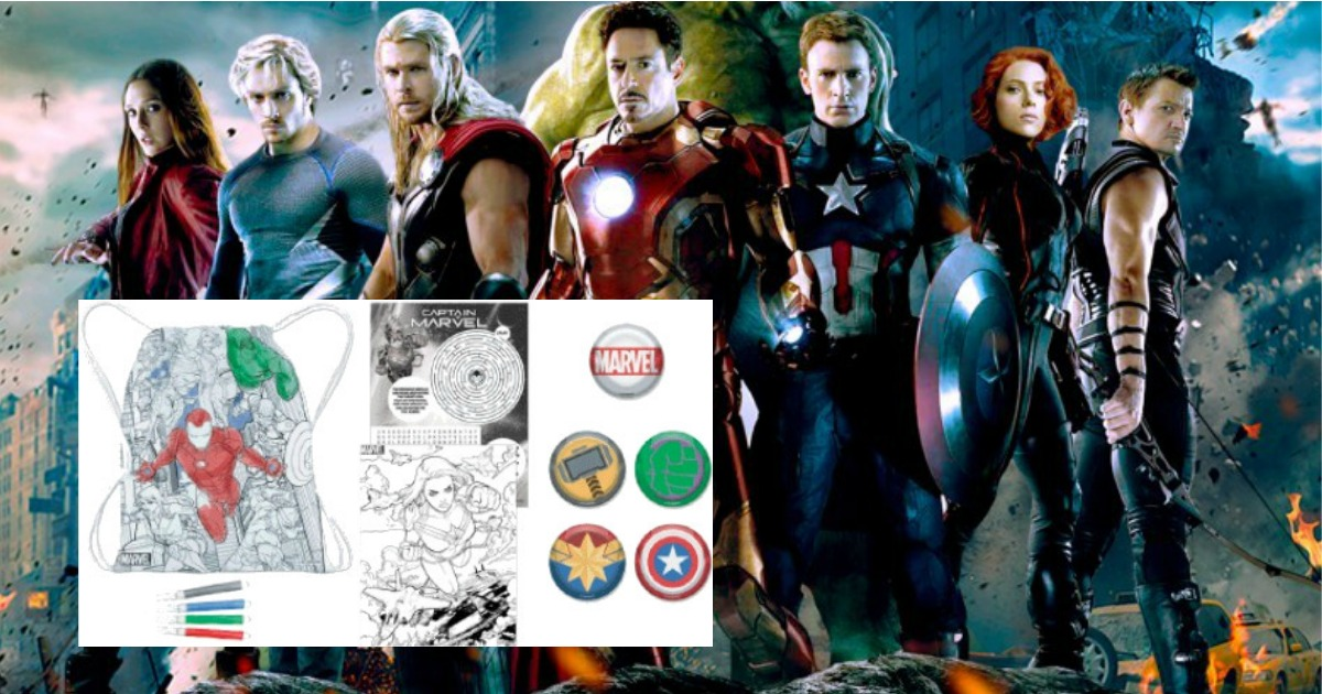 JCPenney In-Store Coupon Giveaway + Fun Marvel Avengers Kids Event on April 13th