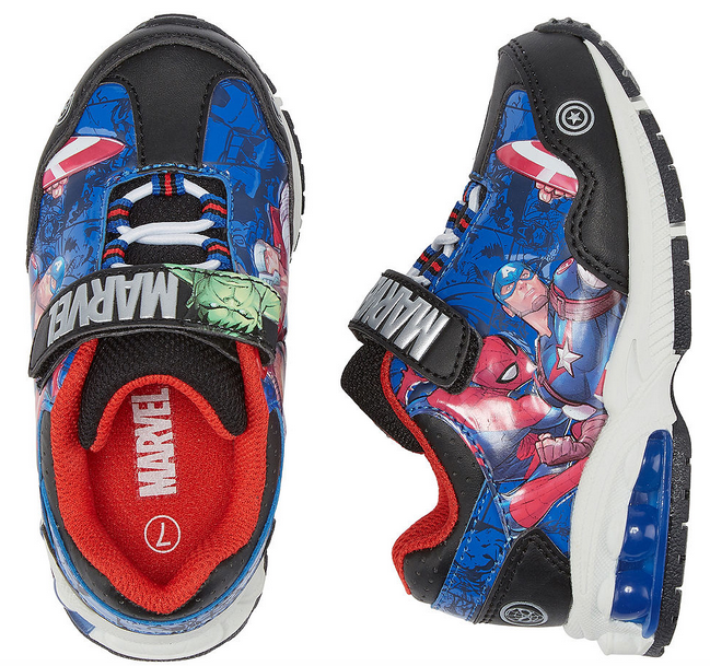 3c8729494864 Marvel Universe Toddler Boys Walking Shoes  35. Buy 2 pairs    70. Total  After Buy 1 Get 1 50% Off Sale    52.50. Final Cost just  26.25 per pair!
