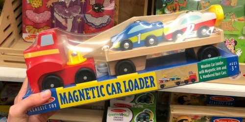 Up to 50% Off Melissa & Doug Magnetic Car Loaders, Peg Puzzles, Crafts & More