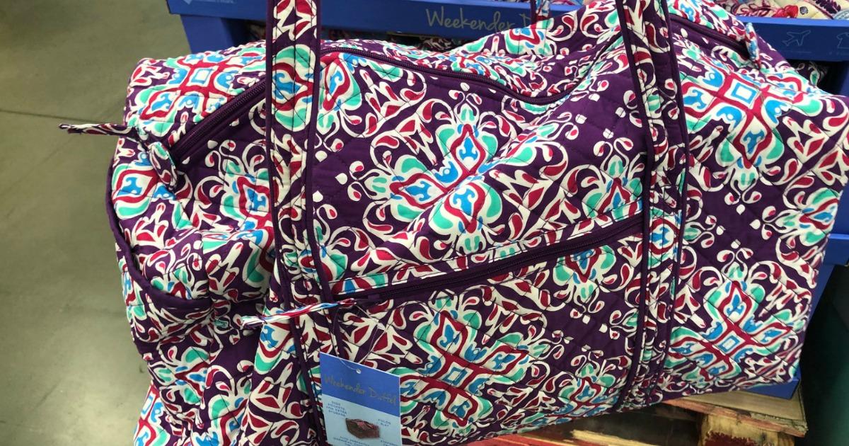Vera Bradley Look A Like Weekender Bags Only 29 98 At Sam S