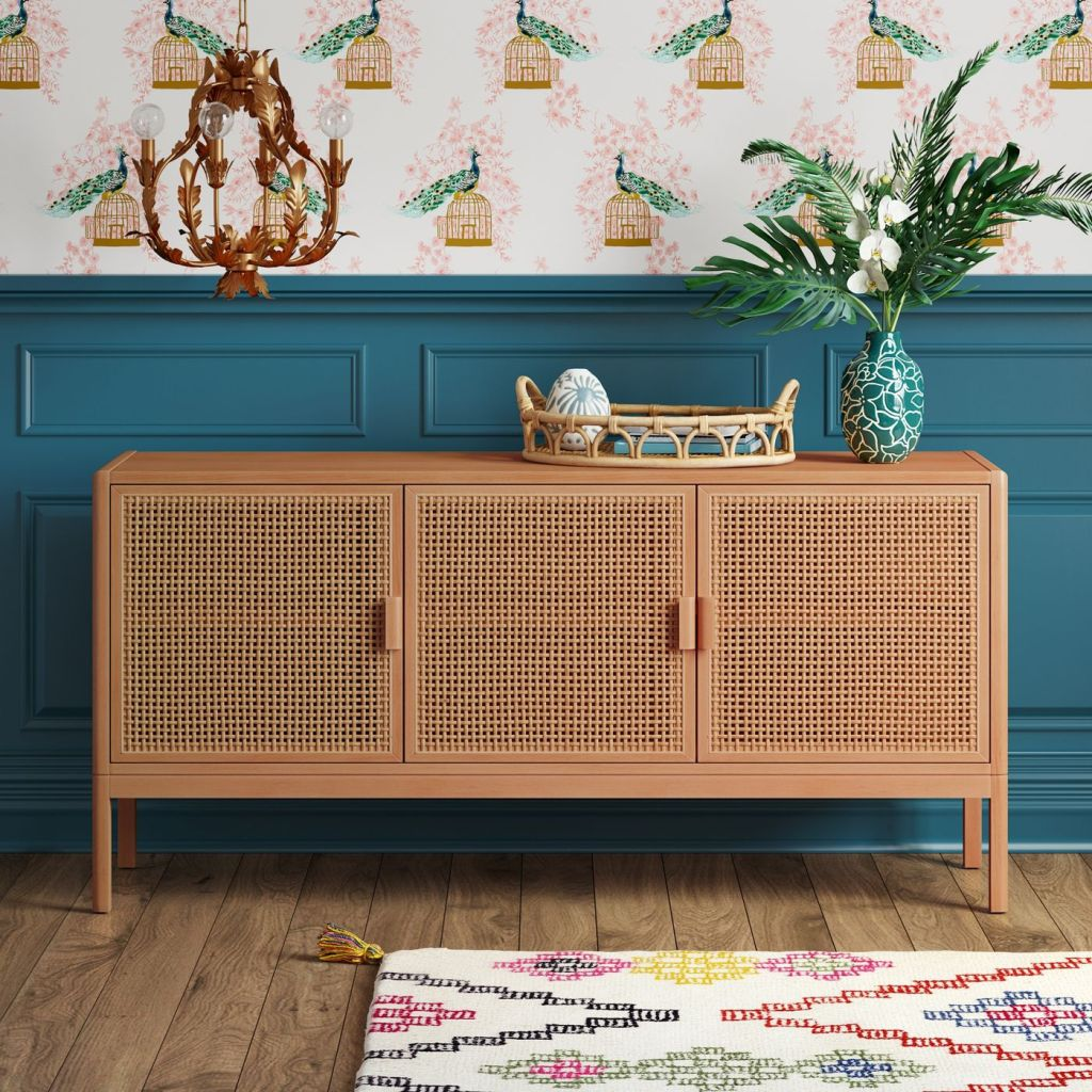 Minsmere TV Stand Natural Brown