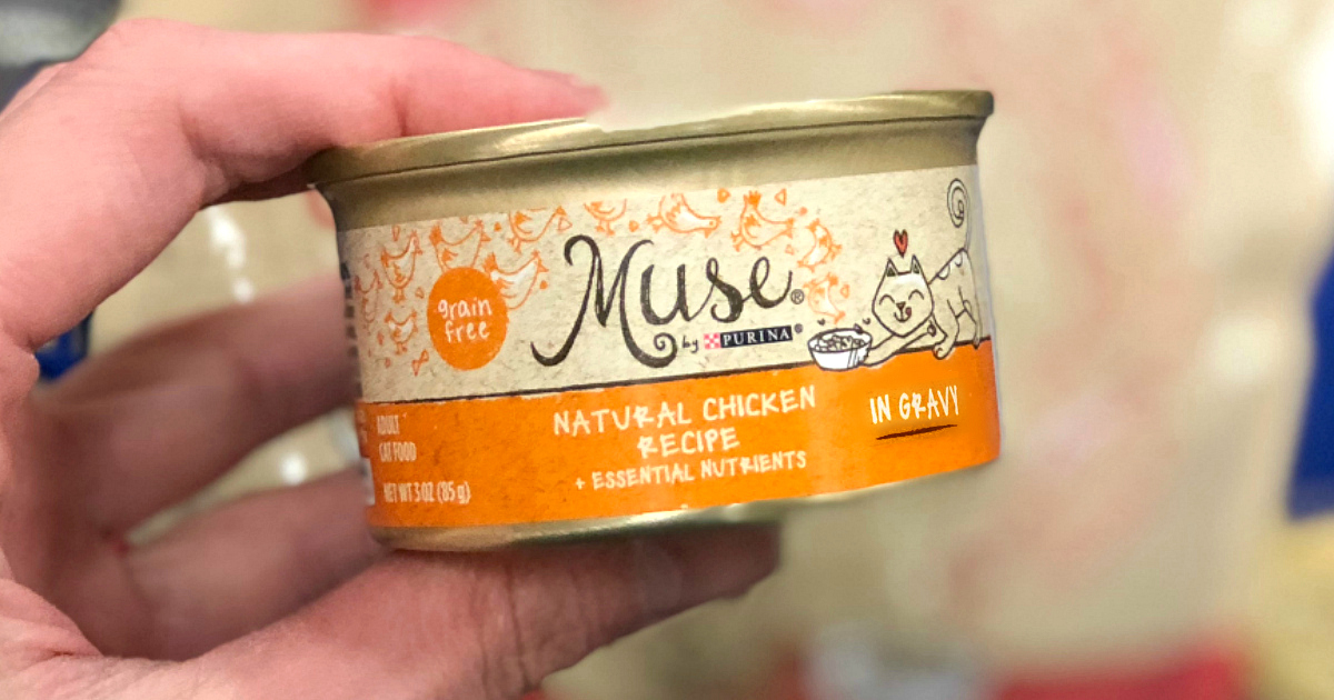 Muse wet cat food in a can that could be part of the Purina recall