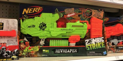 NERF Zombie Strike Blaster Only $7.50 (Regularly $25) & More Deals at Target.com