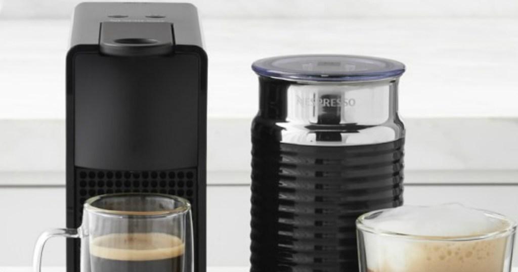 Nespresso Essenza Mini making coffee