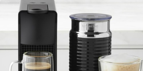 Nespresso Mini Espresso Machine Bundle Only $99.99 Shipped on Best Buy (Regularly $200) | Early Black Friday Deal!