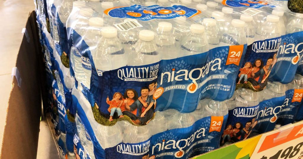90354e40e2 Niagara Bottled Water 24-Pack Only $1.98 at Home Depot (In-Store Only)