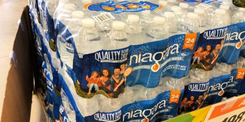 Niagara Bottled Water 24-Pack Just $1.86 at Home Depot | Free In-Store Pickup