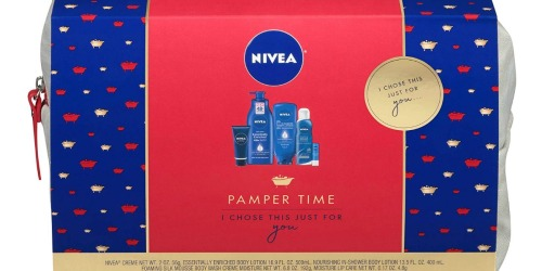 Nivea Pamper Time Gift Set Only $14 at Amazon (Regularly $24) – Includes FIVE Full-Size Products