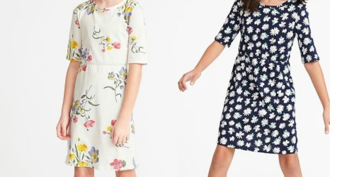 Old Navy Girls Dresses as low as $4.78 (Regularly $20)