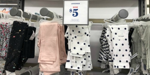 Old Navy Women's & Girls Leggings as Low as $4 (+ Tanks Only $2 for Cardholders)