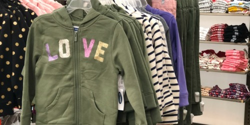 Old Navy Hoodies & Sweatshirts Only $7-$10 (Regularly up to $40)