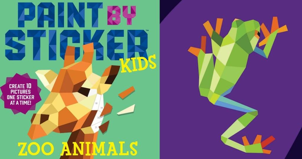 Paint by Sticker Kids zoo 3