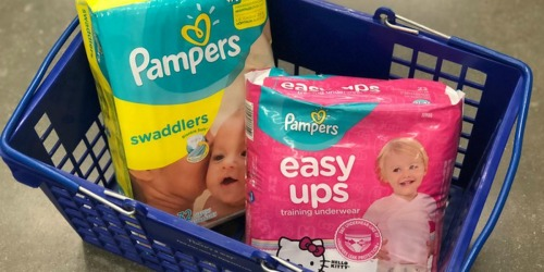 Save $68 on Pampers Diapers & Easy Ups at Walgreens After Rewards & Rebate