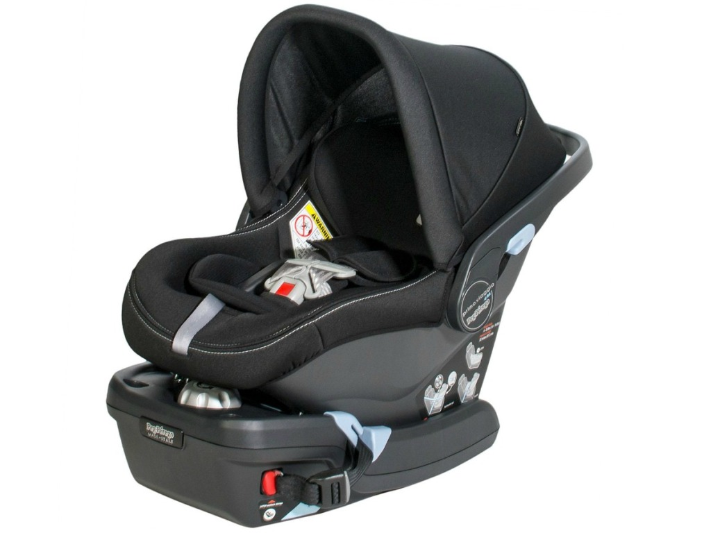 Peg Perego Primo Viaggio 4-35 Infant Car Seat with base facing the left