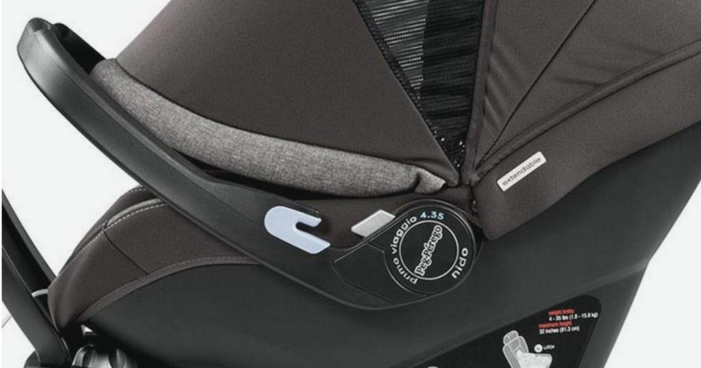 Peg Perego Primo Viaggio 4-35 Infant Car Seat with base