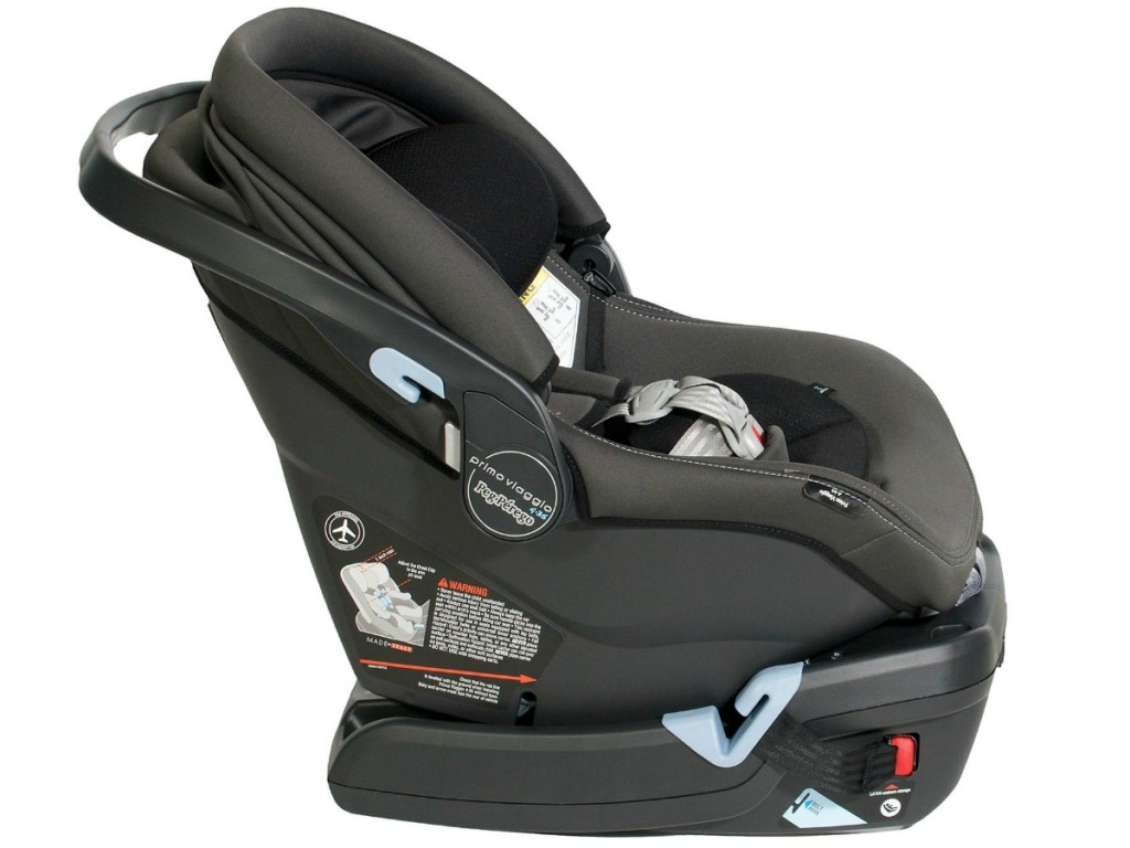 Peg Perego Primo Viaggio 4-35 Infant Car Seat with base facing the right