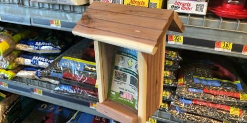 Cedar Wild Bird Feeder Just $3.82 at Walmart.com (Easy to Hang & Fill)