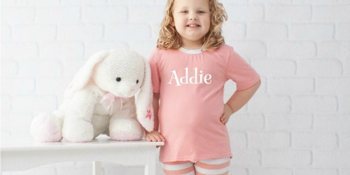 Personalized Kids Pajamas Only $12.99 (Regularly $42)