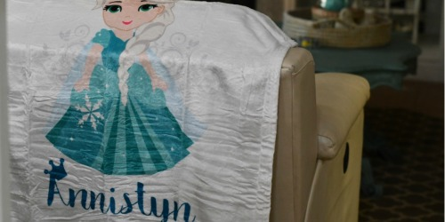 Personalized Princess Plush Fleece Blanket Only $16 Shipped (Regularly $80)