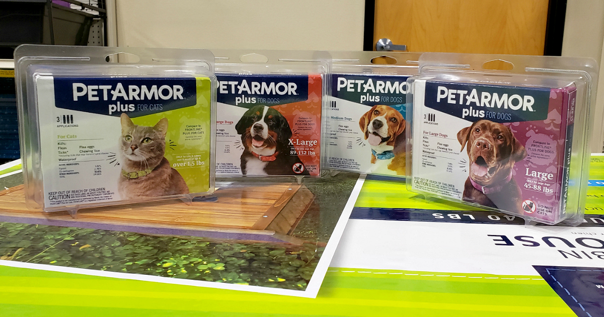 PetArmor Plus now at PetSmart