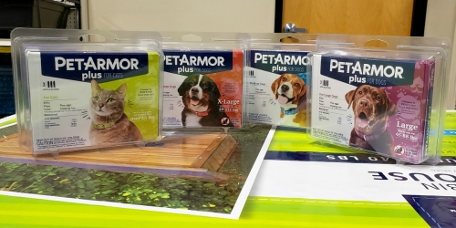 Buy NEW PetArmor Plus at PetSmart and Get $5 Cash Back from Ibotta