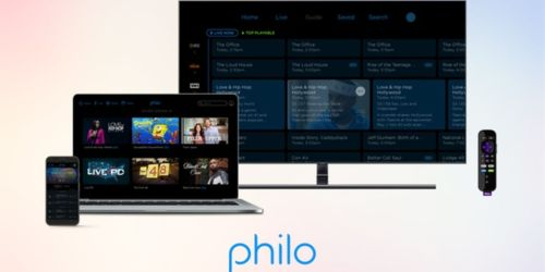 FREE One Month of Philo Streaming Service (New Subscribers)