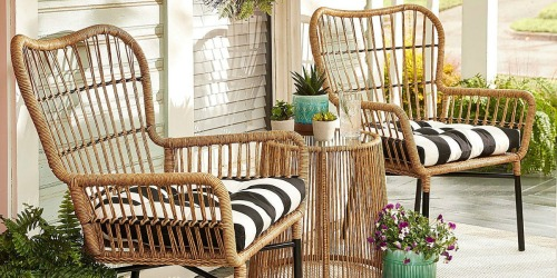 Rare 15% off EVERYTHING at Pier 1 Imports = Hand Woven Patio Set Only $254.97 (Regularly $440) & More