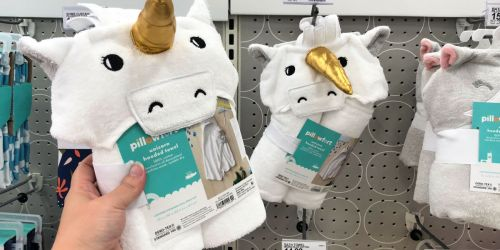 30% Off Kids Home Items at Target.com = Great Buys on Pillowfort Hooded Towels & More