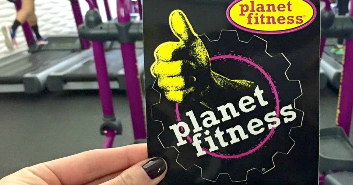 Planet Fitness card