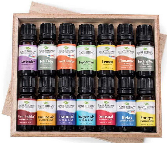 essential oil sampler with 14 scents