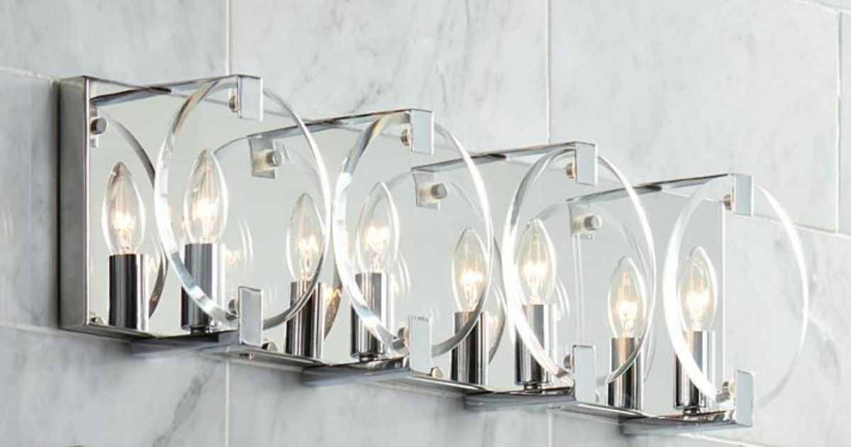 Up To 65 Off Bathroom Lighting Free Shipping At Lamps Plus Hip2save