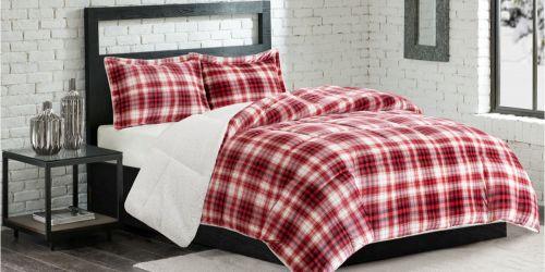 Macy's: Premier Comfort Micro Velvet & Sherpa Comforter as Low as $27.99 (Regularly $140)