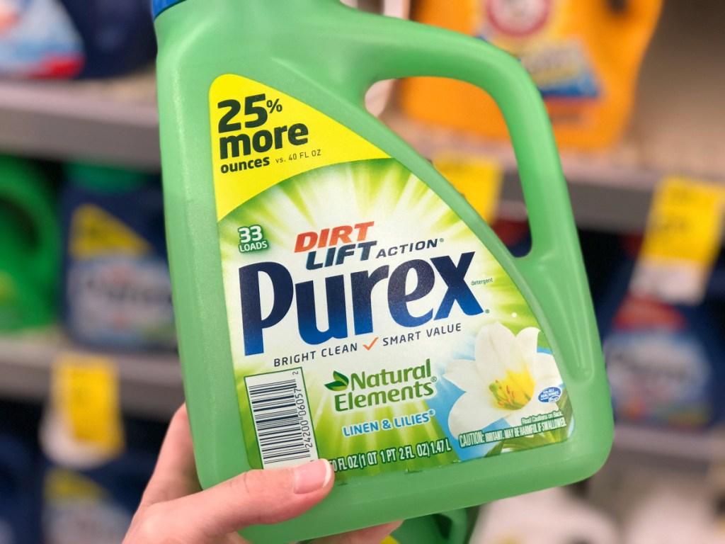 Purex Natural Elements laundry detergent