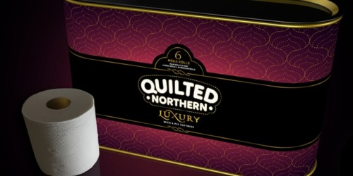 New Quilted Northern Luxury 4-Ply Toilet Paper (Promises 5-Star Experience in Your Bathroom)