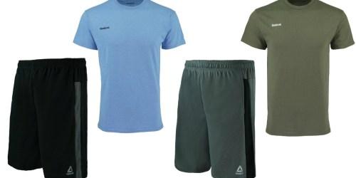 Reebok Men's Shorts & T-Shirt Set Only $14.99 Shipped (Regularly $60)