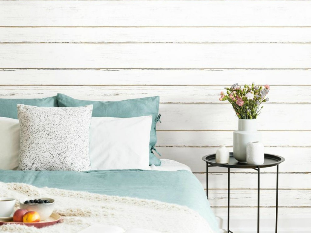 Magnolia Look For Less Over 40 Off Shiplap Wallpaper Wood Boards At Home Depot Hip2save,Modern Masculine Color Palette