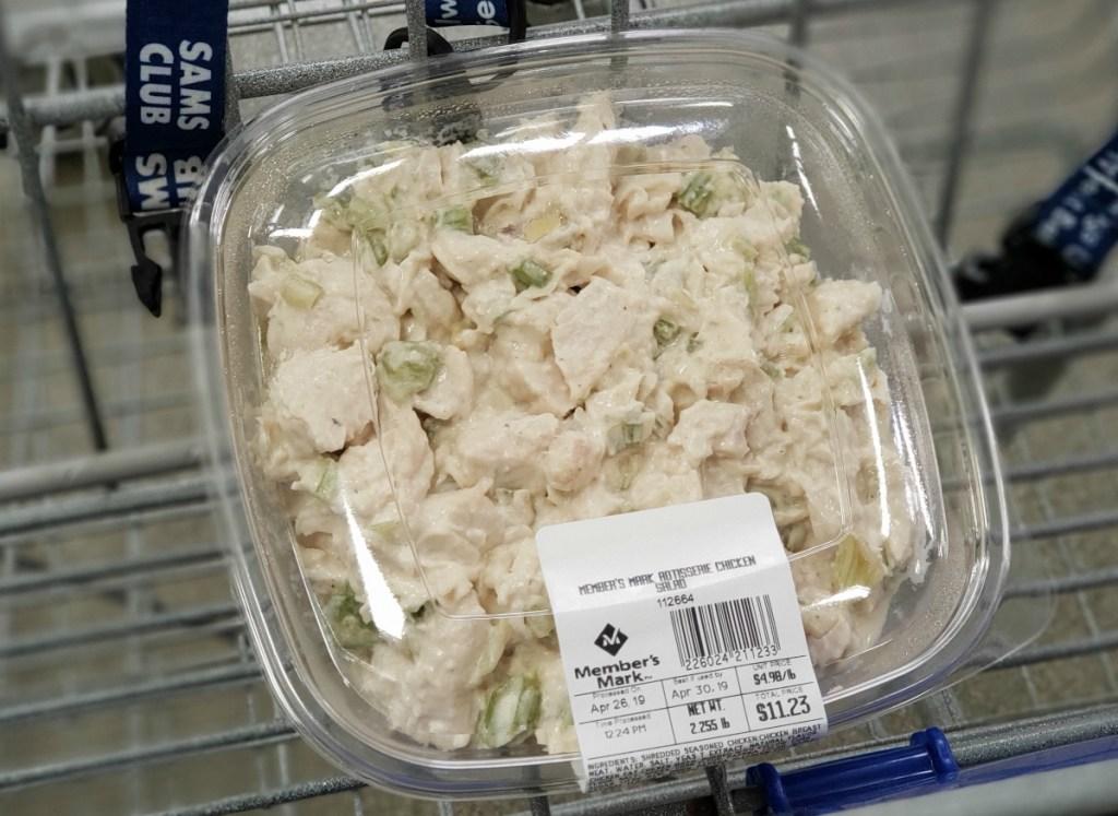 Sam's Club chicken salad