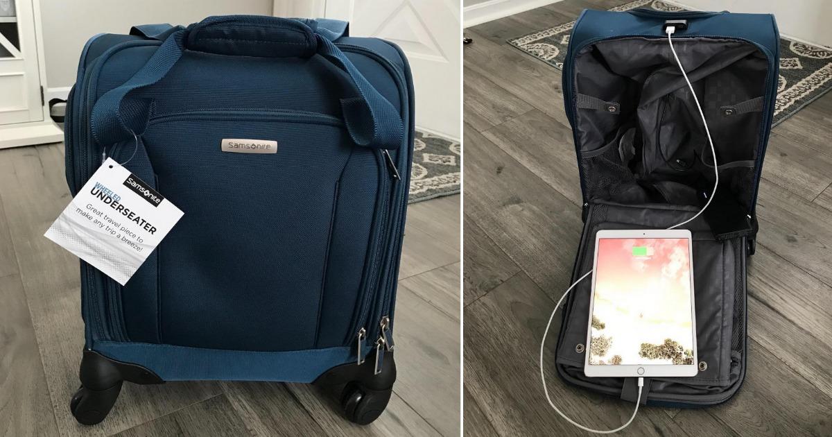 Samsonite underseater luggage