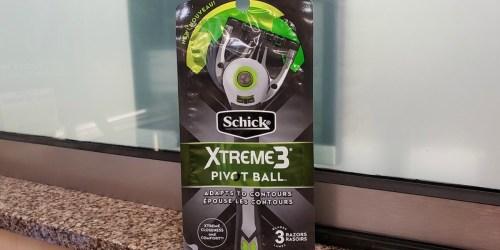 New $2/1 Schick Pivot Ball Disposable Razor Coupon