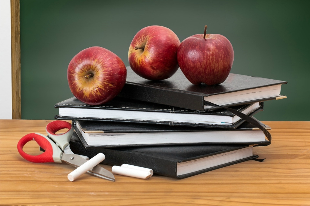 School supplies and books