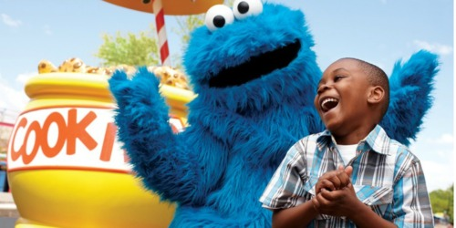 Sesame Place ANY Two Day Ticket AND Meal Ticket Only $69.99 (Valid Starting May 4th)