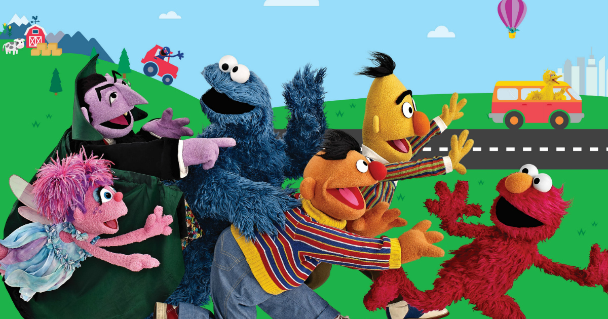 Sesame Street is Taking a 10-City Road Trip This Summer and Offering Free, Family Festivals