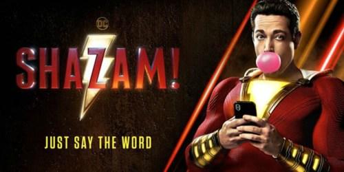 Atom Tickets: Four Shazam Movie Tickets Only $30