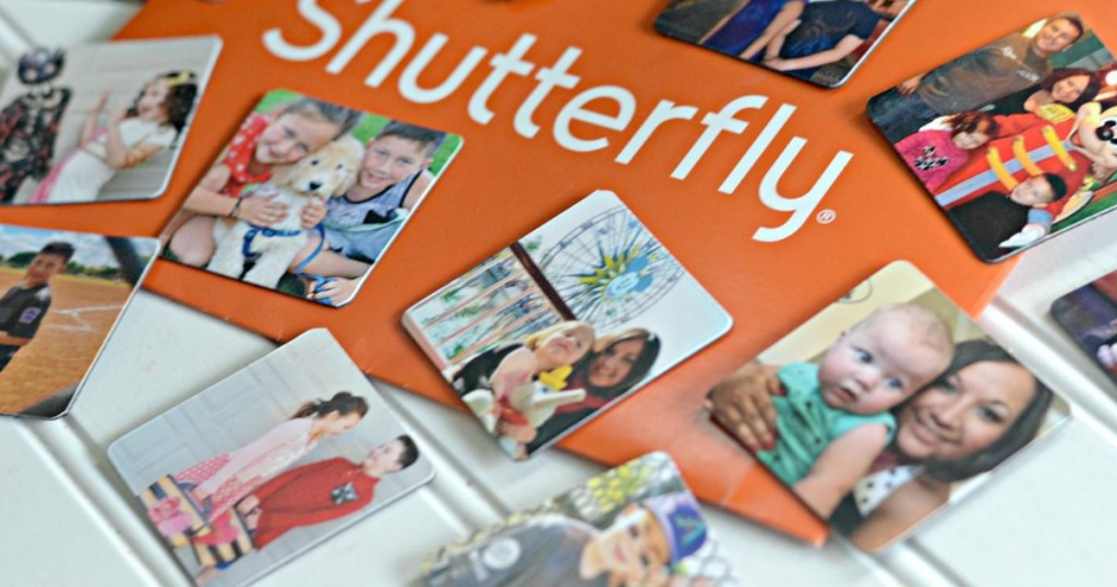 Shutterfly photo magnets with envelop